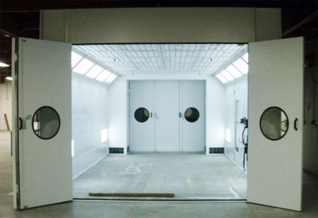used paint booths for sale
